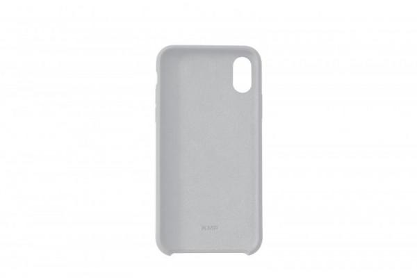 KMP Schutzhülle Apple für iPhone X Silikon Case grey