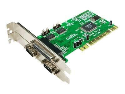 Kontr. PCI Seriell 2x/Parallel 1x LogiLink PC0018