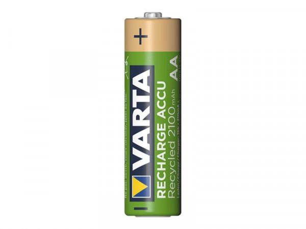 Varta Akku RECHARGE Recycled AA HR6 2100mAh 4St.