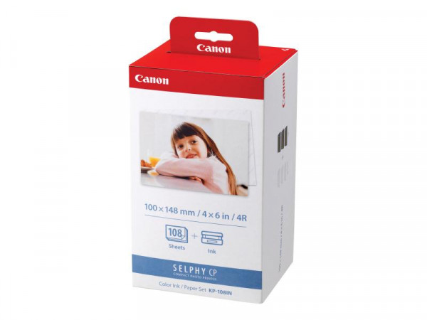 Valuepack Canon KP108IN+Papier cy/ma/ye (10x15cm) 108s