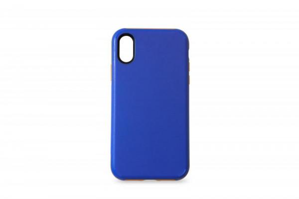 KMP Schutzhülle Apple für iPhone X Sporty Case blue/orange
