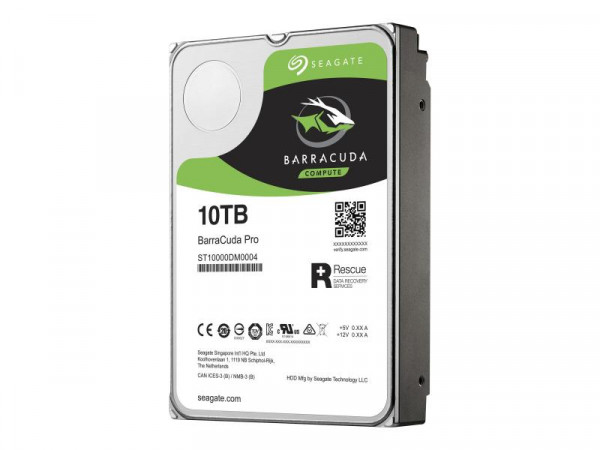 HDD Seagate BarraCuda Pro ST10000DM0004 10TB 7200 24/7