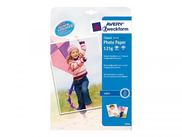 PAP Avery Zweckform Classic Glossy Fotopapier 20Blat