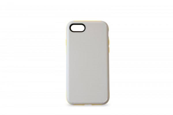 KMP Schutzhülle Apple für iPhone 8+ Sporty Case grey/yellow