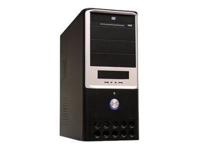 LC Power Classic 7005B - Midi Tower - ATX 420 Watt (ATX12V 1.3)