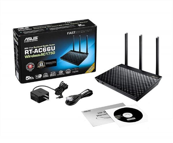 WL-Router ASUS RT-AC66U B1 AC1750