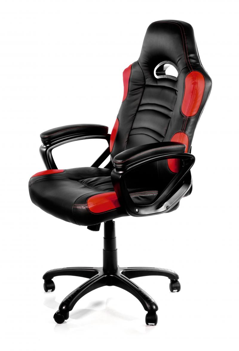 Arozzi Gaming Stuhl Enzo Schw Rot Pu K M Computer