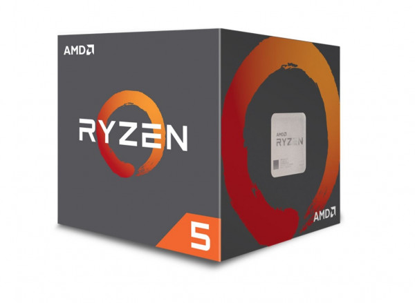 AMD Ryzen 5 2600 AM4 16MB Cache 3,4GHz boxed