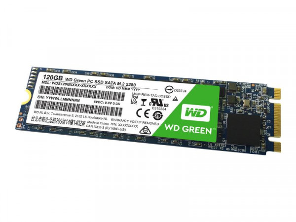 SSD 120GB WD Green M.2 (2280) SATAIII intern bulk