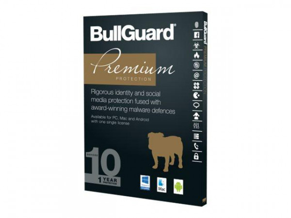 BullGuard Premium Protection Retail 1Jahr/10 Geräte