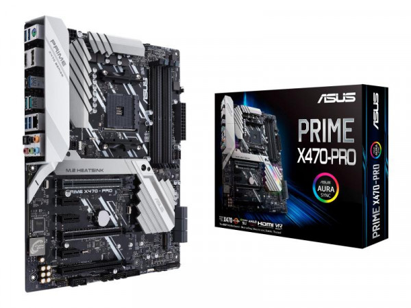 Mainboard ASUS PRIME X470-PRO (AMD,AM4,DDR4,ATX)