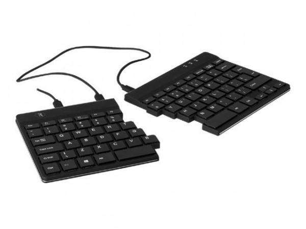 R-Go Split Tastatur ES-Layout schwarz