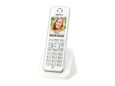 AVM FRITZ!Fon C4 - Schnurloses VoIP-Telefon - Internetradio, Netzwerk-Audioplayer