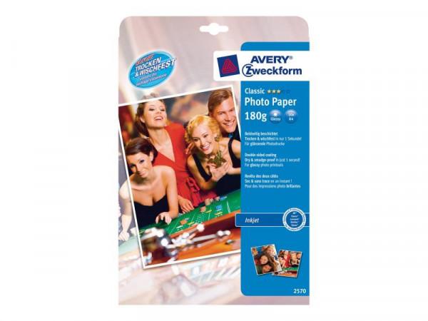 PAP Avery Zweckform Premium Instant Fotopapier beids
