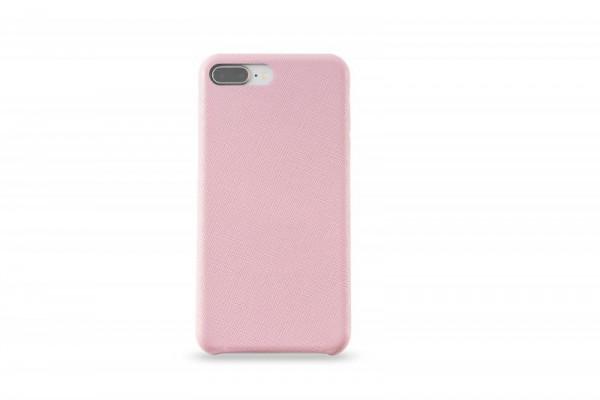 KMP Schutzhülle Apple für iPhone 8+ Leder Case rose
