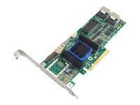 Adaptec Raid 6805 SAS PCIe 8 port 512mb (KIT)