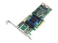 Adaptec Raid 6805 SAS PCIe 8 port 512mb (KIT)