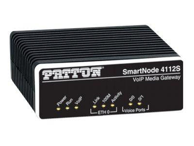 Patton SmartNode 4112, Dual FXS VoIP Gateway, Small
