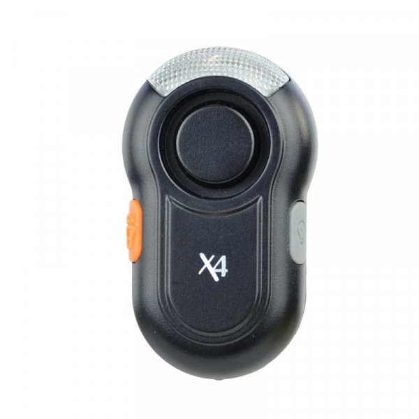 X4-LIFE Security Schulranzenalarm (schwarz)