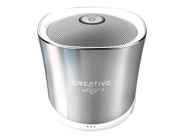 Creative Woof 3 - Lautsprecher - tragbar - kabellos