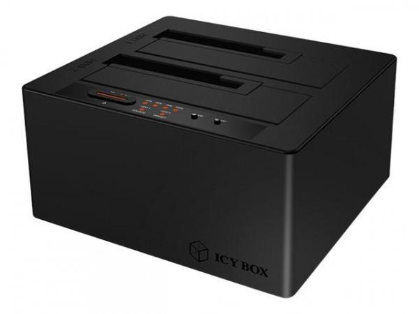 "Dockingstation IcyBox 2x2,5""/3,5"" HDD/SSD USB 3.1 retail"
