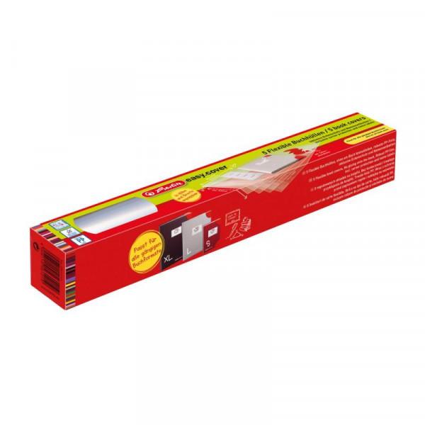 Herlitz Polypropylen-Folie + 24 Schutzecken + Etiketten