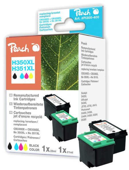 Peach Druckkopf HP NR.350XL/351XL Sparpack bk/c Comp.