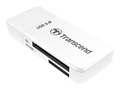 Card Reader Transcend F5 USB3.0 SD/microSD Card Reader weiß