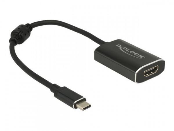 DELOCK Adapter USB/C St -> HDMI Bu 4K 60Hz PD-Funktion