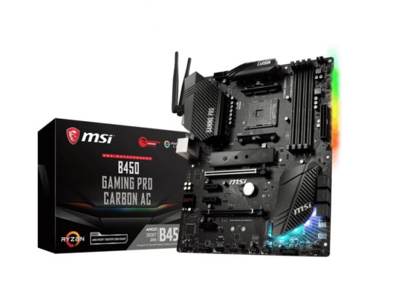 Mainboard MSI B450 Gaming Pro Carbon AC (B450,AM4,ATX,DDR4,VGA,A