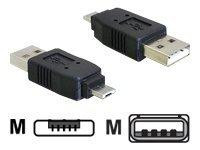 Delock USB-Adapter - USB (M) bis Micro-USB Type A (M)