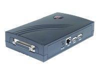 (B-Ware) Longshine Printserver 10/100 1x Parallel 2x USB2.0