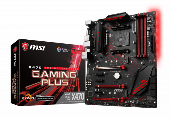 Mainboard MSI X470 GAMING PLUS X470 AM4 Gaming MB