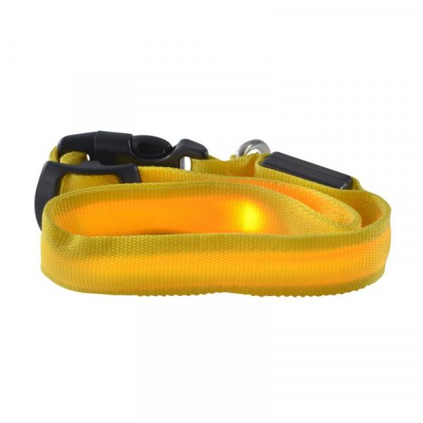 Ultron 142446 Halsband für Haustiere Hund Gelb