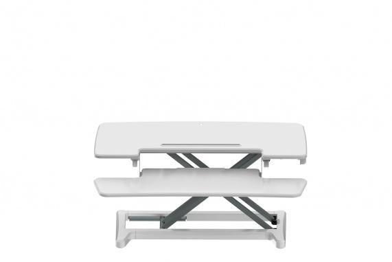 Bakker Elkhuizen Sitz-Steh-Aufsatz Riser verstellbar weiß