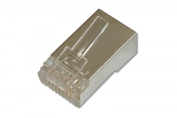 Assmann - Netzwerkanschluss - RJ-45 (M) - abgeschirmt