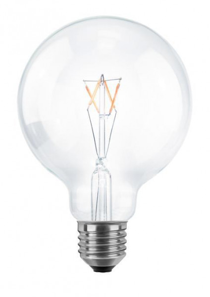 SEGULA LED Globe 95 klar E27 3.5W(20W) Dimmbar