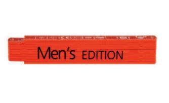 Rieffel Taschenmeter Kunststoff Swiss Made 1m Rot Men's Edit
