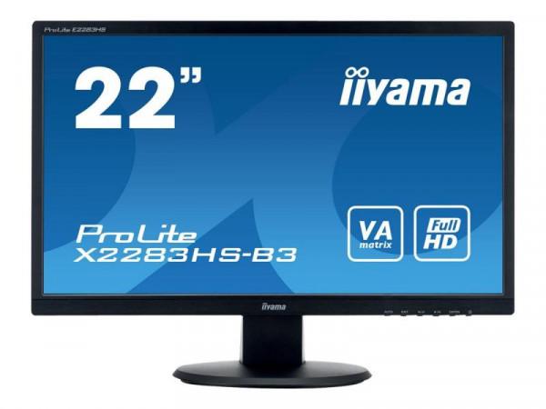 "Iiyama ProLite X2283HS-B3 - LED-Monitor - 55.9 cm (22"")"