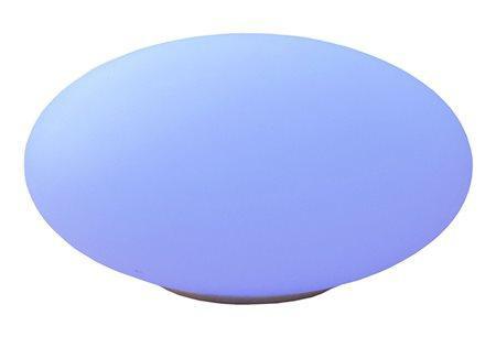 Telefunken LED Solar-Gartenleuchte RGB Oval wetterfest 35cm