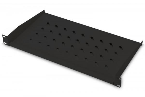 DIGITUS Fachboden 1HE 45x483x250mm bis 15kg schwarz