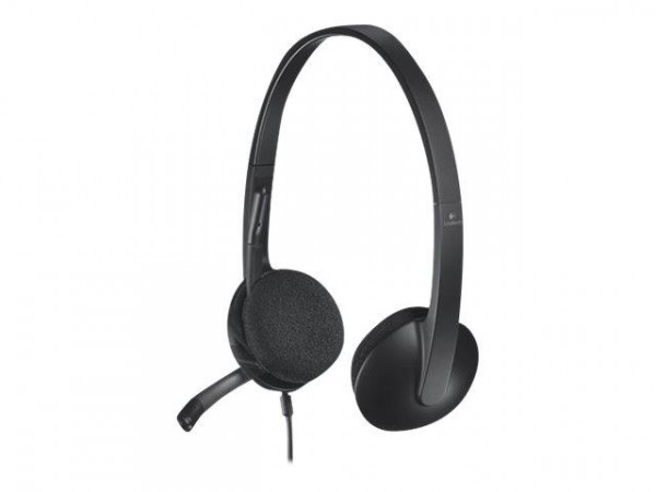Logitech USB Headset H340 black retail