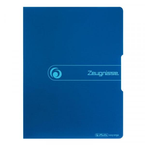 "Herlitz Sichtbuch ""Zeugnisse"" opak blau 20 Hüllen"