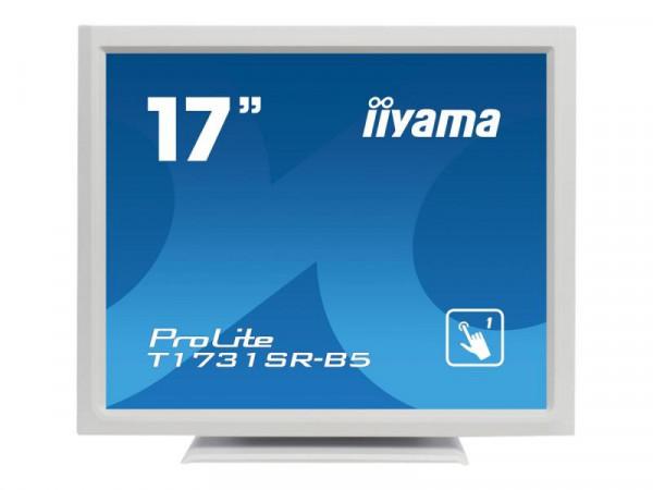 "IIYAMA 43.2cm (17"") T1731SR-W5 5:4 HDMI+DP+USB wh.Spk"