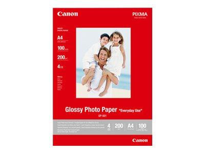 Papier Canon GP501 Glossy Photo Papier A4 (100BL)