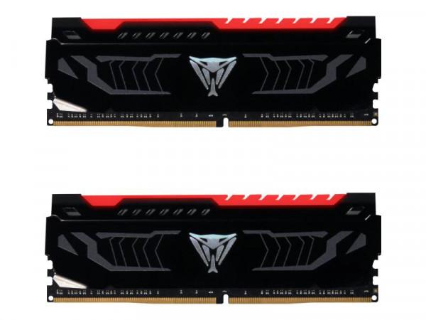 DDR4 16GB (2x 8GB) PC2400 CL14 Patriot Viper LED red
