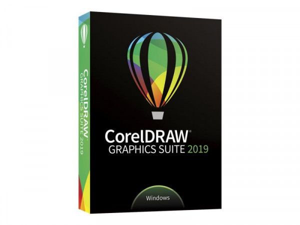 Corel Graphics Suite 2019 Upgrade deutsch DVD