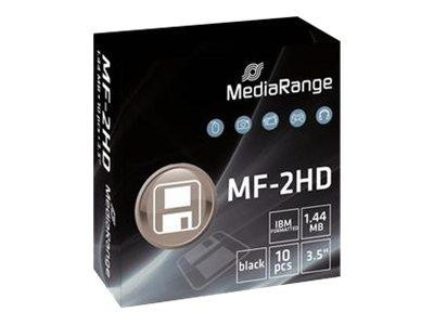 MediaRange Diskette Floppy Disc 1.44MB 10er Pack