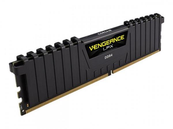 DDR4 16GB PC 2666 CL16 CORSAIR KIT (2x8GB) Vengeance Black