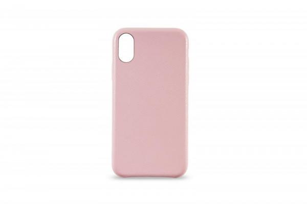 KMP Schutzhülle Apple für iPhone X Leder Case rose